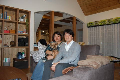 東京湾を見下ろす家