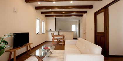 AsWell自然素材で造る、シンプル&デザインハウス